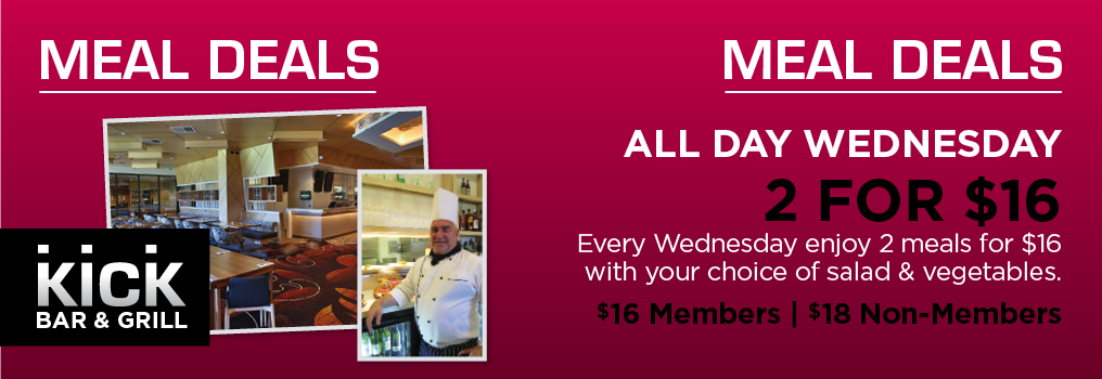 Wednesday Night Meal Deals