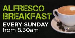 Sunday Alfresco Breakfast