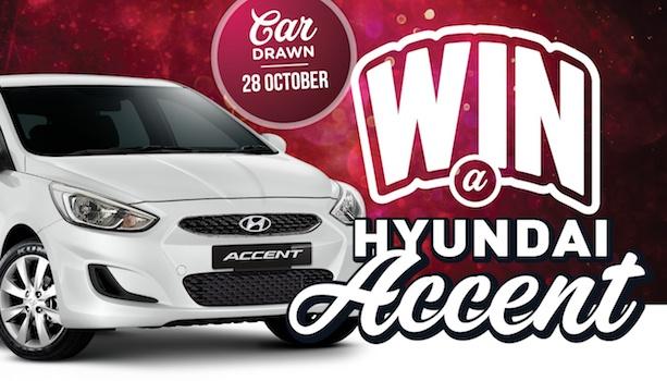 Win a Hyundai Accent