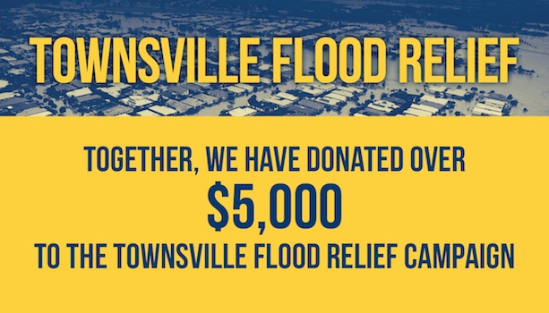 Flood Relief - Thank-you