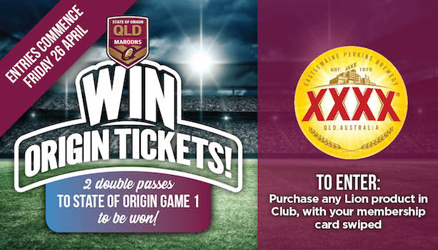 Win Origin Tickets