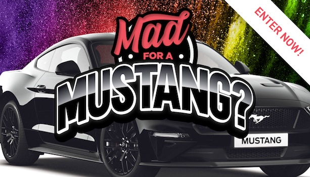 Mad for a Mustang?