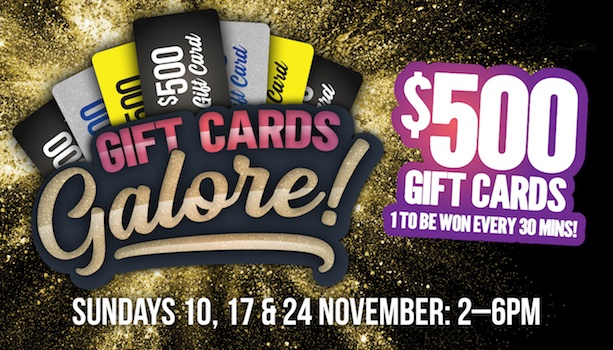 Gift Cards Galore