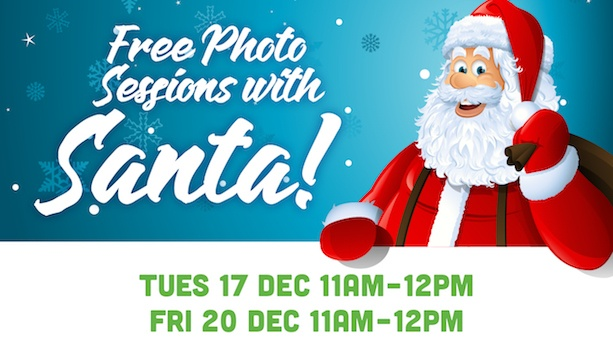 Free Photo Sessions with Santa
