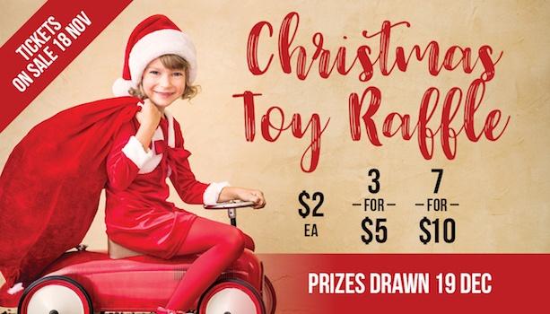 Christmas Toy Raffle
