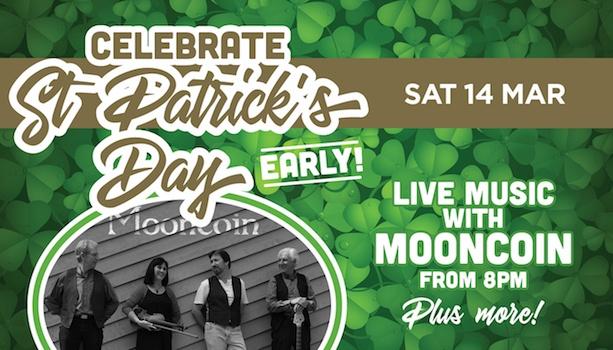 Mooncoin - Irish Theme Night