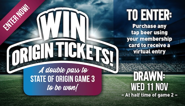 Win State of Origin Game 3 tickets
