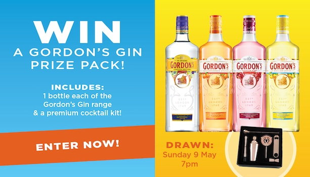 Win a Gordon's Gin Prize Pack