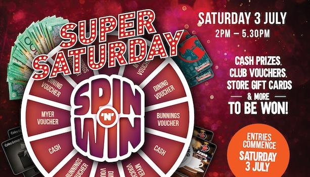 Super Saturday Spin & Win