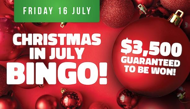 Christmas in July Bingo