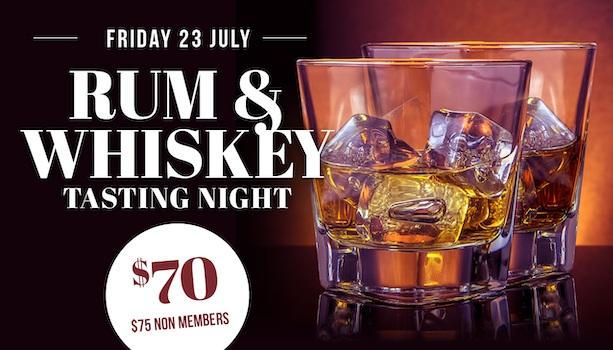 Rum & Whiskey Tasting Night