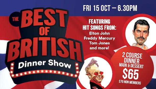 Best of British Dinner Show