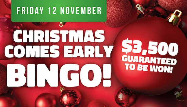 Christmas Comes Early Bingo